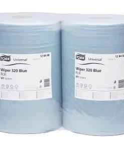 Салфетка протирочная 2-х слойная »TORK» Blue