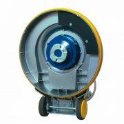 Система крепления приводного диска и щетки